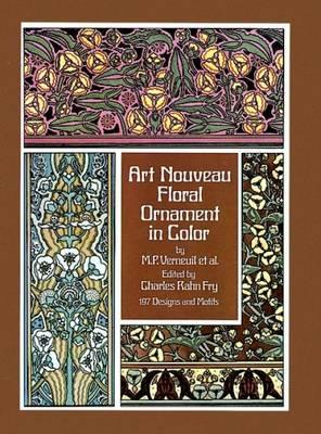 Art Nouveau Floral Ornament in Colour (Paperback)