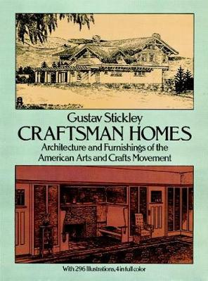 Craftsman Homes - Dover Architecture (Paperback)
