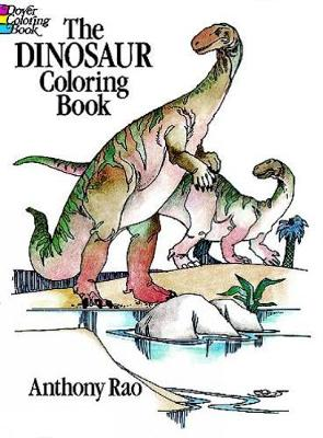 The Dinosaur Colouring Book - Dover Nature Coloring Book (Paperback)