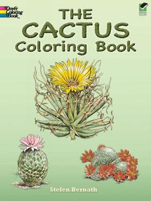 The Cactus Coloring Book - Dover Nature Coloring Book (Paperback)