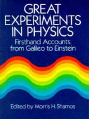 Great Experiments in Physics (Paperback)