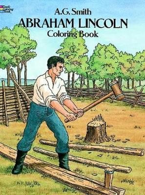 Abraham Lincoln Coloring Book - Dover History Coloring Book (Paperback)
