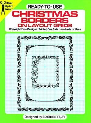 Ready-to-Use Christmas Borders on Layout Grids - Dover Clip Art S.