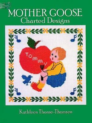 Mother Goose Charted Designs - Dover Embroidery, Needlepoint (Paperback)