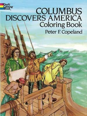 Columbus Discovers America Coloring Book (Paperback)