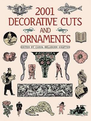 2001 Decorative Cuts and Ornaments - Dover Pictorial Archive (Paperback)
