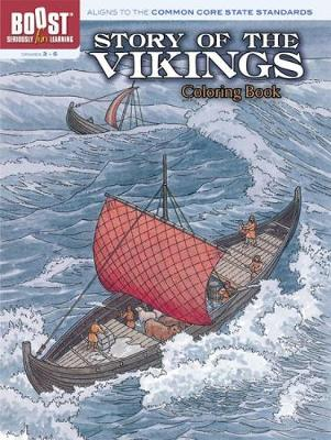 Story of the Vikings Coloring Book - Dover History Coloring Book (Paperback)