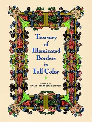 Treasury of Illuminated Borders in Full Colour - Dover Pictorial Archive (Paperback)