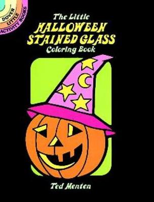 the little halloween stained glass coloring book dover stained glass coloring book paperback - Stained Glass Coloring Book