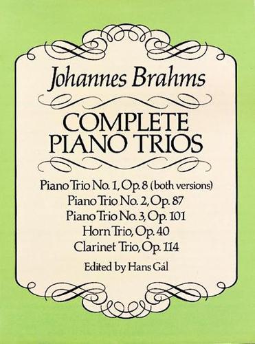 Complete Piano Trios (Paperback)