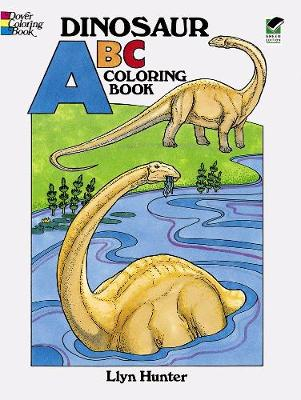 Dinosaur ABC Coloring Book - Dover Coloring Books (Paperback)