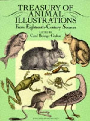Treasury of Animal Illustrations from Eighteenth Century Sources - Dover Pictorial Archive (Paperback)