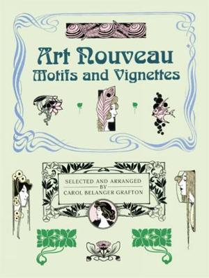 Art Nouveau Motifs and Vignettes - Dover Pictorial Archive (Paperback)