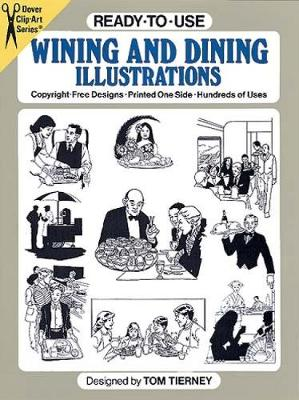 Ready-to-Use Wining and Dining Illustrations - Dover Clip Art Ready-to-Use
