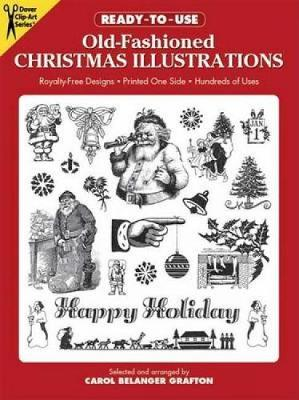 Ready to Use Old Fashioned Christmas Illustrations - Dover Clip Art Ready-to-Use