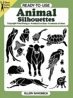 Ready-to-Use Animal Silhouettes - Dover Clip Art Ready-to-Use