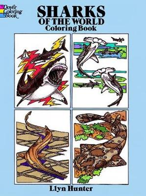 Sharks of the World Coloring Book - Dover Nature Coloring Book (Paperback)