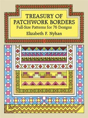 Treasury of Patchwork Borders - Dover Quilting (Paperback)
