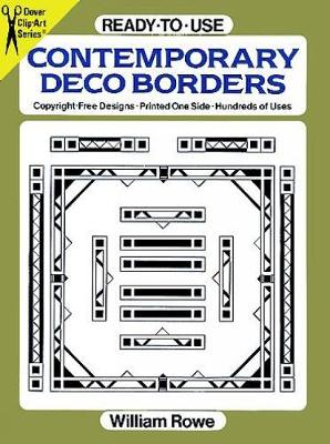 Ready-to-Use Contemporary Deco Borders - Dover Clip Art Ready-to-Use