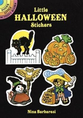 Little Halloween Stickers - Dover Little Activity Books Stickers (Paperback)