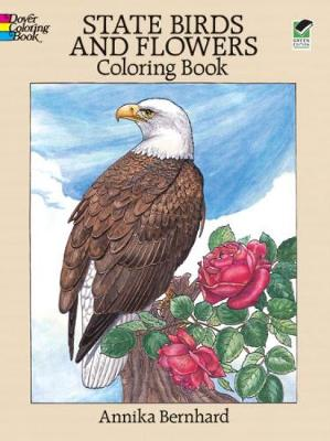State Birds and Flowers Coloring Book - Dover Nature Coloring Book (Paperback)