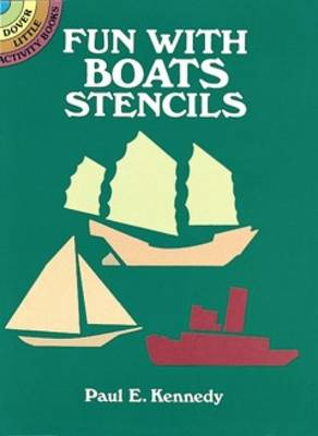 Fun with Boats Stencils (Paperback)