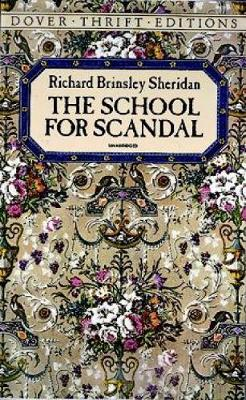 The School for Scandal - Dover Thrift Editions (Paperback)