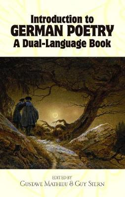 Introduction to German Poetry: A Dual-Language Book - Dover Dual Language German (Paperback)