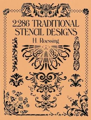 2,286 Traditional Stencil Designs - Dover Pictorial Archive (Paperback)