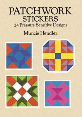 Patchwork Stickers: 24 Pressure-Sensitive Designs - Dover Stickers (Paperback)
