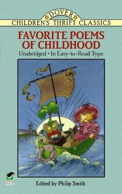 Favorite Poems of Childhood - Dover Children's Thrift Classics (Paperback)