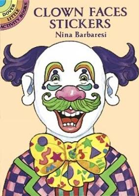 Clown Faces Stickers - Dover Little Activity Books (Paperback)