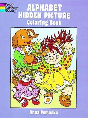 Alphabet Hidden Picture Coloring Book - Dover Coloring Books (Paperback)