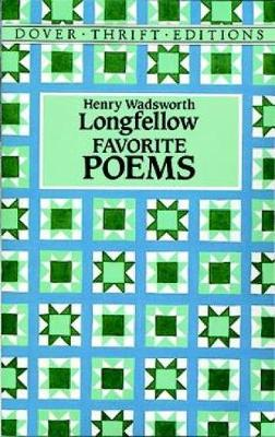 Favorite Poems - Dover Thrift Editions (Paperback)