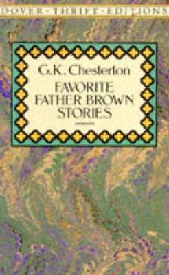 Favorite Father Brown Stories - Dover Thrift Editions (Paperback)