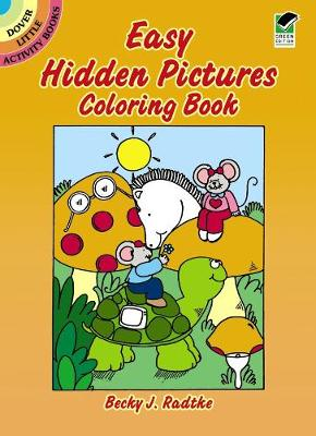 Easy Hidden Pictures Coloring Book - Dover Little Activity Books (Paperback)