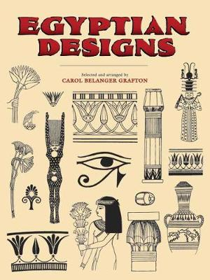 Egyptian Designs - Dover Pictorial Archive (Paperback)