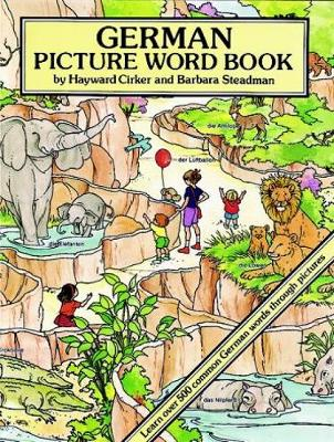 German Picture Word Book - Dover Children's Language Activity Books (Paperback)