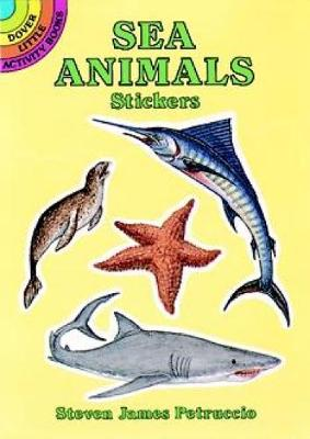 Sea Animals Stickers - Dover Little Activity Books Stickers (Paperback)