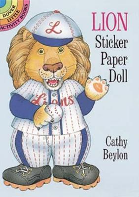 Lion Sticker Paper Doll - Dover Little Activity Books Paper Dolls (Paperback)
