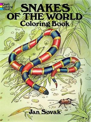 Snakes of the World Coloring Book - Dover Nature Coloring Book (Paperback)