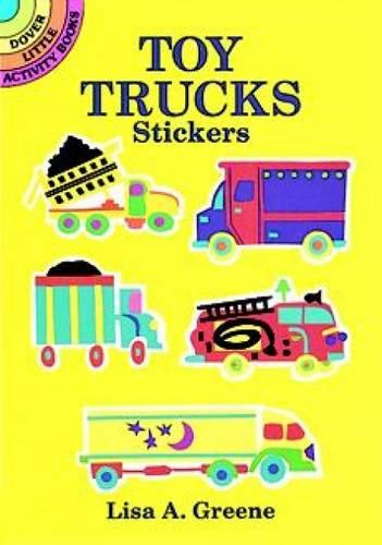 Toy Truck's Stickers - Dover Little Activity Books Stickers (Paperback)