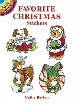 Favourite Christmas Stickers - Dover Little Activity Books Stickers (Paperback)