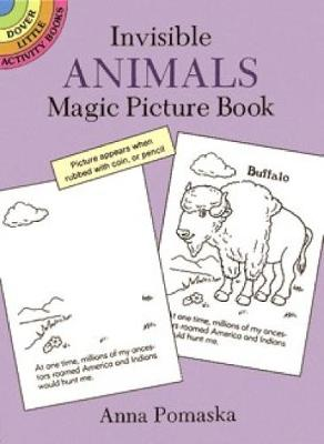 Invisible Animals Magic Picture Book - Dover Little Activity Books (Paperback)