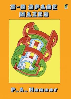 3-D Space Mazes - Dover Children's Activity Books (Paperback)