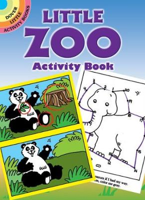 Little Zoo Activity Book - Dover Little Activity Books (Paperback)
