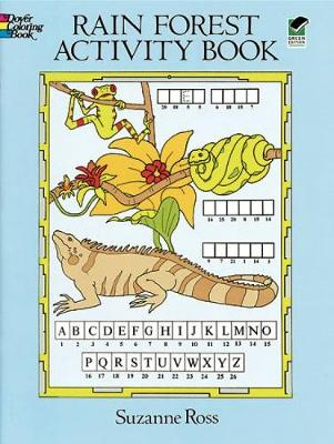Rain Forest Activity Coloring Book - Dover Children's Activity Books (Paperback)