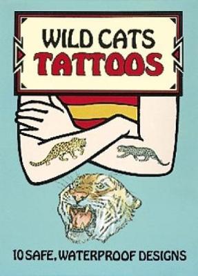 Wild Cats Tattoos - Dover Tattoos (Paperback)
