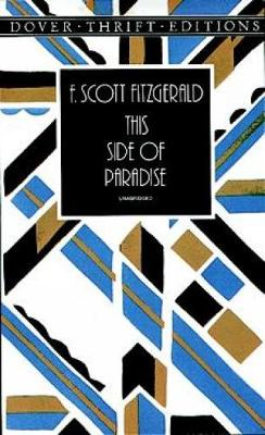 This Side of Paradise - Dover Thrift Editions (Paperback)