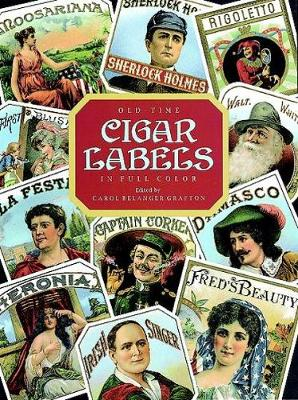 Old Time Cigar Labels - Dover Pictorial Archive (Paperback)
